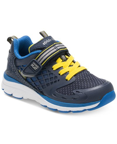 Stride Rite Breccen Navy Made 2 Play Running Shoe by Stride Rite