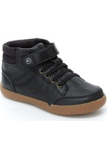 Stride Rite High Top Stone/Black Shoe by Stride Rite