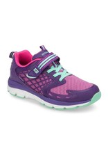 Stride Rite Cannan Purple Made 2 Play Running Shoe by Stride Rite