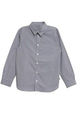 WHEAT KIDS Button Up Shirt Ellias Style Sky Colour by Wheat Clothing
