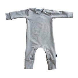 North Kinder Long Sleeve Romper in Bamboo/Organic Cotton by North Kinder (Made in Canada)