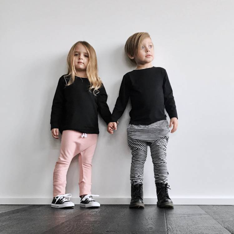 North Kinder Organic Cotton & Bamboo Jogger Pants by North Kinder (Made in Canada)