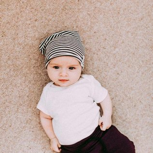 Organic Cotton & Bamboo Slouchy Beanie by North Kinder (Made in Canada)