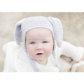 Beba Bean Crochet Bunny Toque by Beba Bean