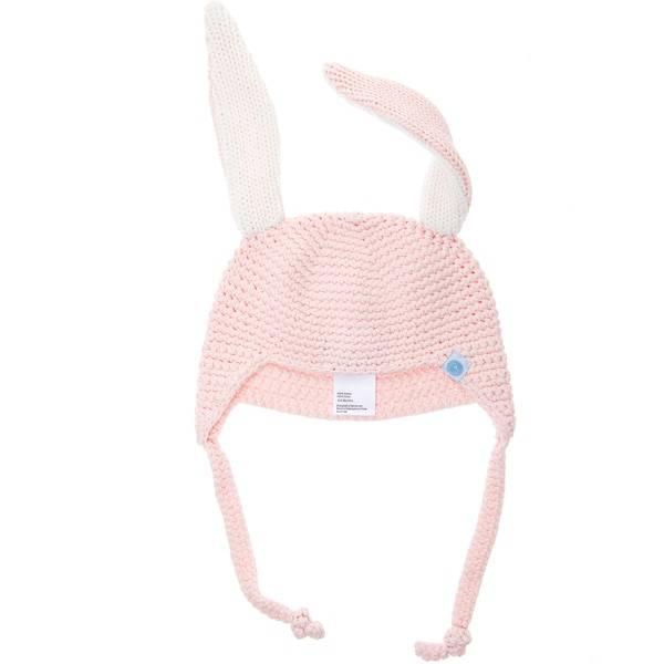 Beba Bean Crochet Bunny Toque by Beba Bean
