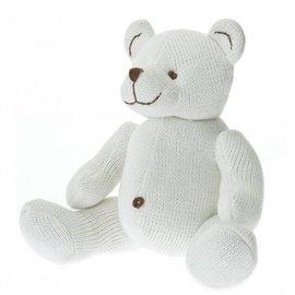 Beba Bean Large Knit Stuffed Animal in Ivory