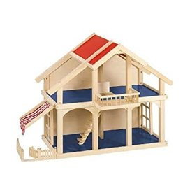 Goki Wooden Dollhouse with Patio