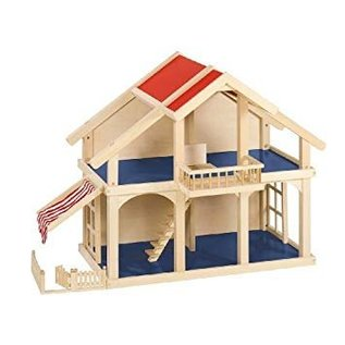 Goki Wooden Dollhouse with Patio