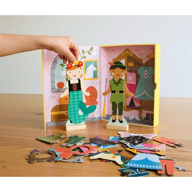 Petit Collage Magnetic Dress Up Play Set by Petit Collage