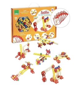Vilac My Construction Wooden Building Set by Vilac (106 Pieces)