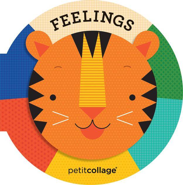 Petit Collage Feelings - a Board Book by Petit Collage