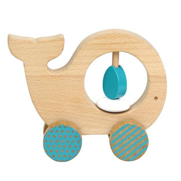 Petit Collage Wooden Push Along Toys by Petit Collage