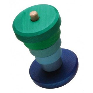 Grimms Wooden Wobbly Stacking Tower by Grimms