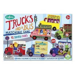 Eeboo Trucks and Bus Matching Game