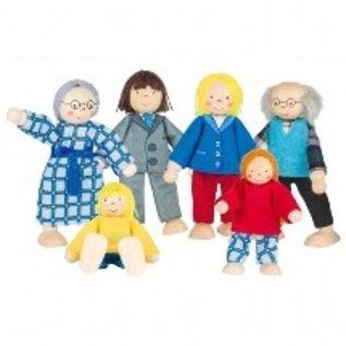 Goki City Family Flexible Puppets by Goki