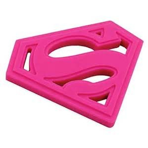 Bumkins Superhero Silicone Teether by Bumkins