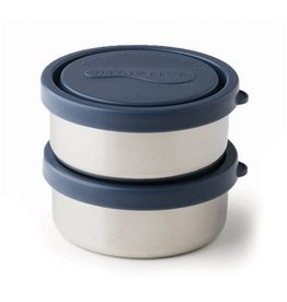 Konserve 5oz Stainless Steel Leakproof Containers 2-Pack by Konserve