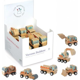 Manhattan Toy Wooden Varoom Builders by The Manhattan Toy Company