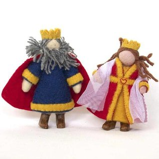 Papoose Wool Felt People Figures by Papoose