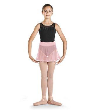 Bloch Bloch Diamante Ribbon Trim Skirt CR9541