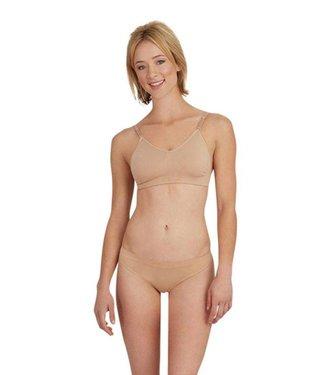 Capezio Capezio Adult Seamless Bra w/Nude & Clear Strap 3683