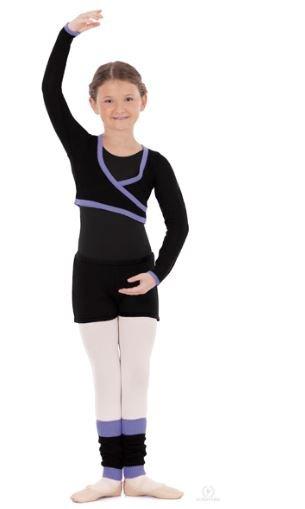 EUROTARD Eurotard Mock Wrap Sweater One Size 72510C