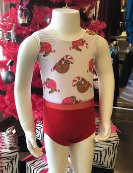 BP Designs BP Designs Christmas Sloth Leotard