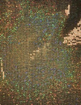 Gold Flashy Sequin fabric