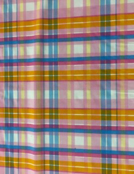 Baby Doll Plaid stretch fabric