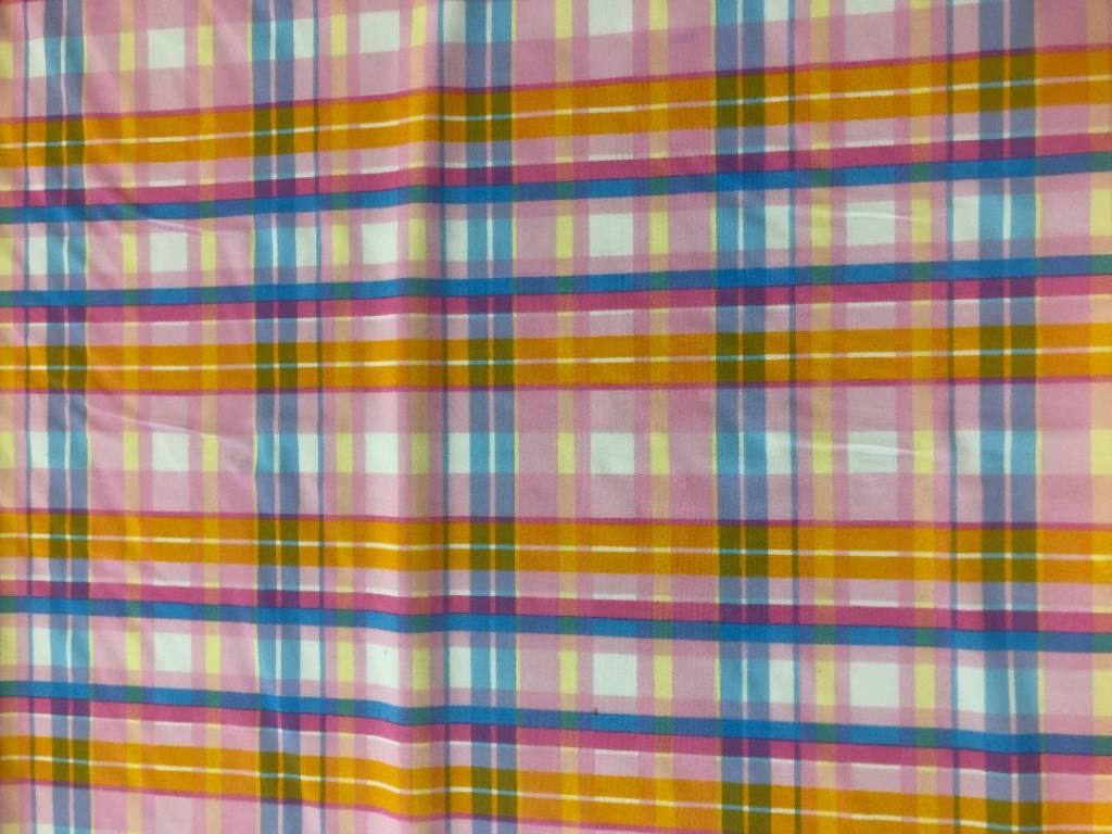 Baby Doll Plaid stretch fabric