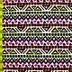 Neon Geo Print Fabric
