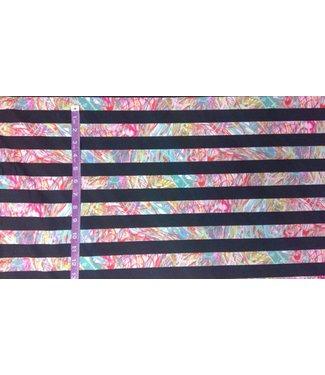 Crazy Stripe Fabric