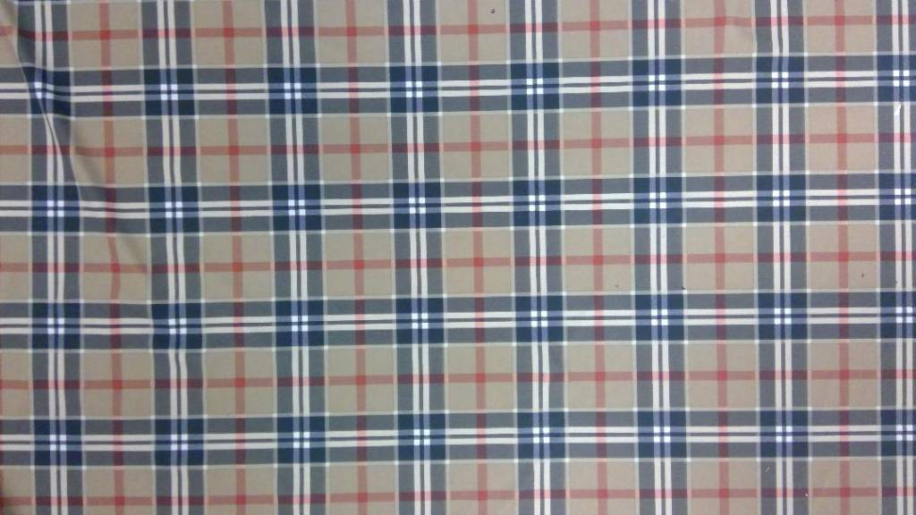 Modern Plaid Fabric