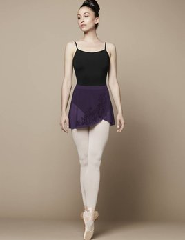 Bloch Bloch Flock Mock Wrap Skirt R9811