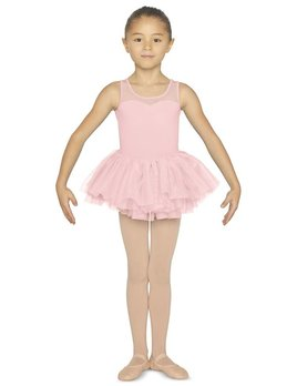 Bloch Bloch Flock Open Bow Back Tutu Leotard CL5555