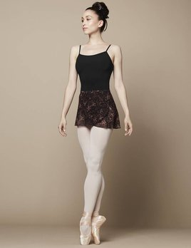 Bloch Bloch Floral Printed Mesh Wrap Skirt R9821B