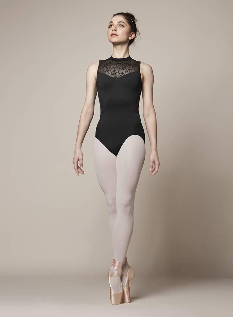 Girls Ballet Dance Dress Tank Leotard Gymnastics Turtle Neck Ballerina Dancewear