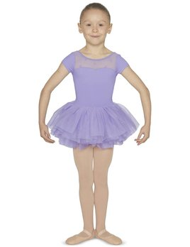 Mirella Mirella Sweetheart Wrap Back Tutu Leotard M1076C