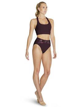 Bloch Bloch Floral Mesh High Waist Brief FR5094