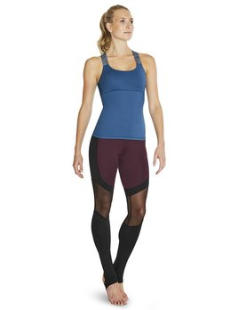 Bloch Bloch Panneled  Mesh Stirrup Legging FP5103