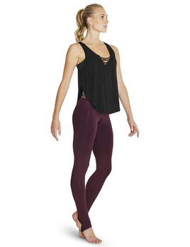 Bloch Bloch Lace Up Front Tank Top FT5111
