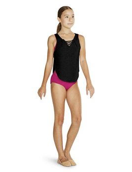 Bloch Bloch Lace up Front Tank Top FT5135C