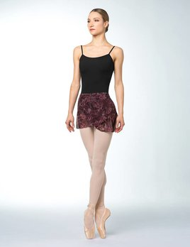 Bloch Bloch Printed Mesh Wrap Skirt R9911