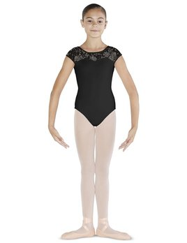 Bloch Bloch Sweetheart Floral Print Cap Sleeve Leotard CL4832