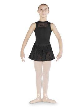 Mirella Mirella Glitter Print Mesh Skirt MS129C