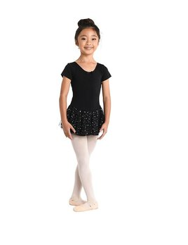 Danshuz Danzmotion Short Sleeve Skirted Leotard 293