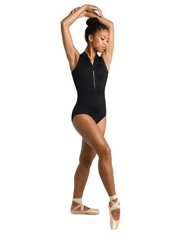 Danshuz Danzmotion Zip Front Cross Back Leotard 2724C
