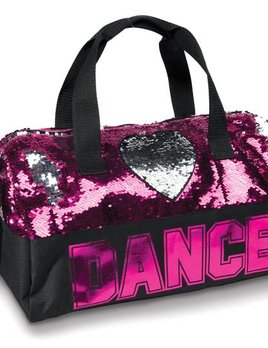 Danshuz Danznmotion Sequin Dance Heart Bag B842