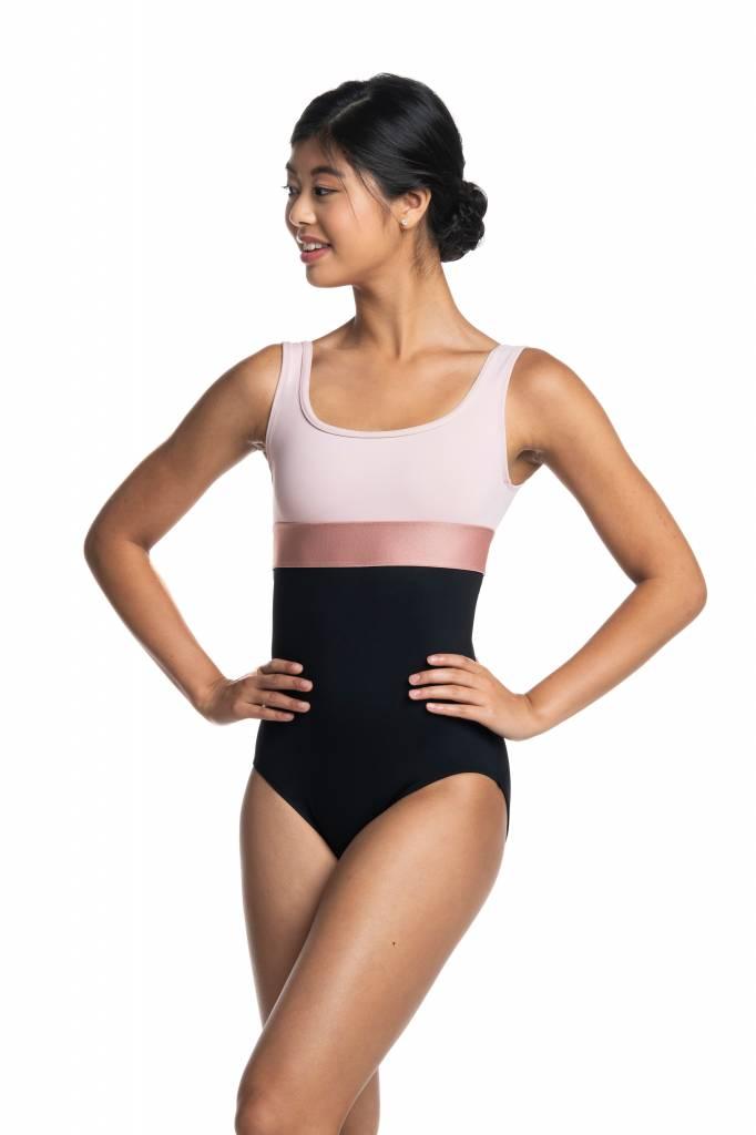 922d230b Ainsliewear Manon Leotard 1071 - Black and Pink Dance Supplies, Tulsa