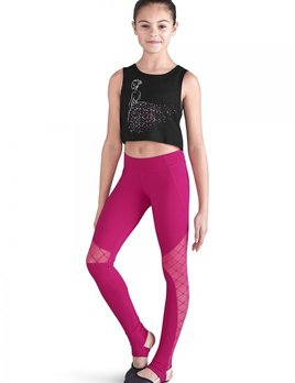 994d3a669 Dance Crops and Tops - Black and Pink Dance Supplies